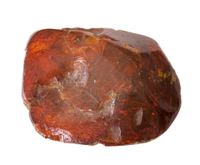 Deep red amber. 3.6cm across.