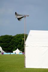 Loud speaker tanoy system