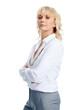 Stern Businesswoman
