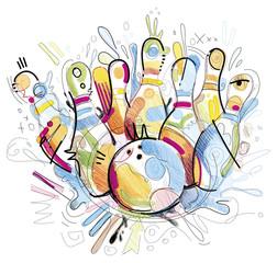 Bowling Sketch