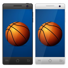 smartphone basketball