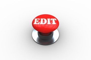 Edit on digitally generated red push button