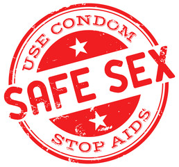 safe sex stamp