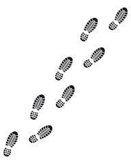 Fußspur