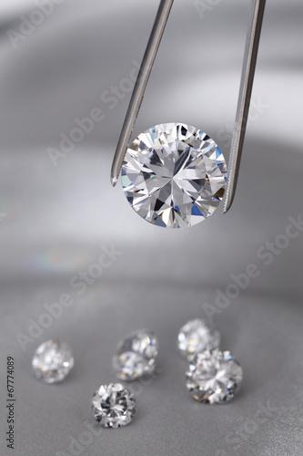 Diamond jewelry holding - 67774089