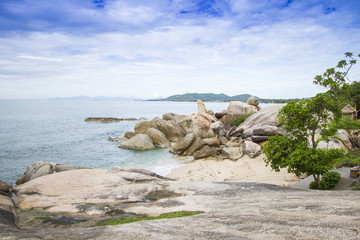 Grandma and Grandpa Rocks - Kho Samui Thailand