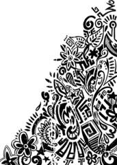 Ornate doodle