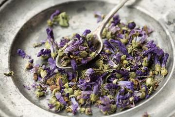 Mallow dried flowers-fiori di malva