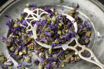 Mallow dried flowers-fiori di malva