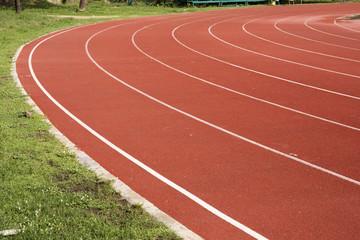 Athletics Running track rubber