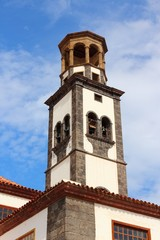 Tenerife landmark - Santa Cruz church