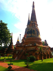 Pagoda #Ayutthaya #Old style #Thai temple