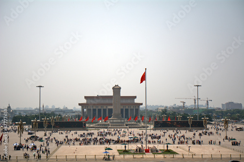 Foto op Canvas Beijing Tiananmen Square, Beijing, China