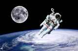 Astronaut Earth Moon Space - 67777889