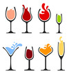 set of wine glass - 67780236