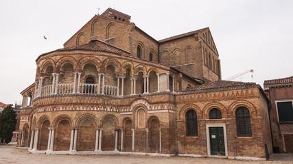 Murano, Altstadt, Basilika, Insel, Venedig, Frühling, Italien