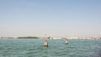 Venedig, Altstadt, Stadtpanorama, Inseln, Sommer, Italien