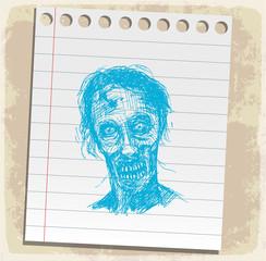 halloween cartoon zombi