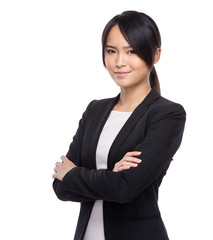 Young business asian woman