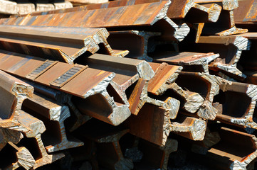 railway rails scrap recycling 4