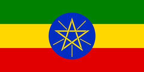 Flaf of Ethiopia