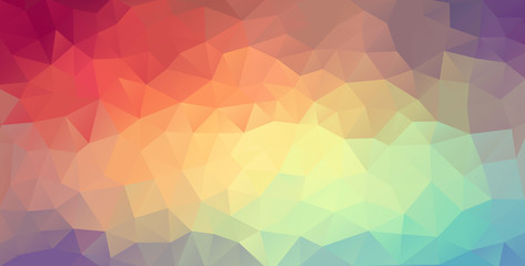 Vector polygon website background