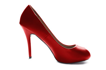 High heeled shoe
