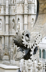 Stone lace Milan Cathedral