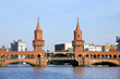 canvas print picture - Oberbaum bridge - Berlin