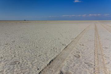 4wd track saltpan