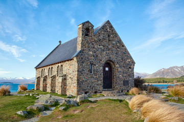 Lake Tekapo Church - new Zealand