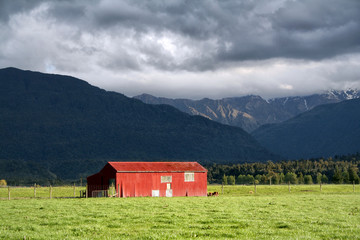 Red Barn - New Zealand