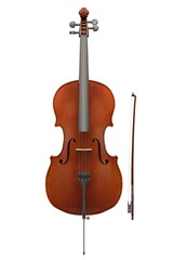 Cello instrument isolated © xaver