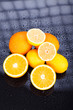canvas print picture - Delicious Citrus fruits