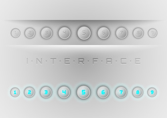 Blue Interface