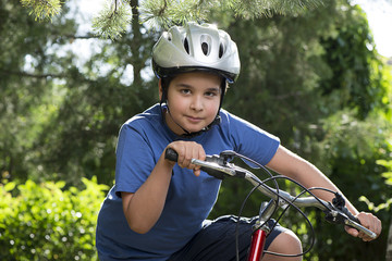 Child Biking Outdoor