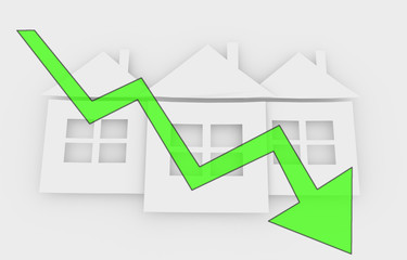 falling real estate prices