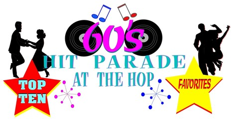 sixties hit parade concept