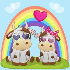 Lovers Cows