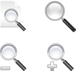 Magnifier illustration