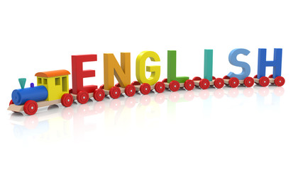Toy Train & ENGLISH
