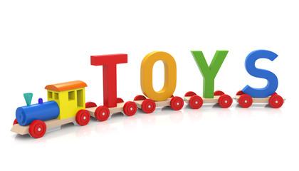 Toy Train & Toys