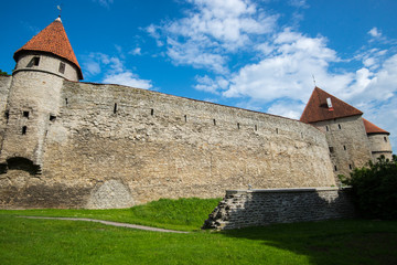 Wall of Tallinn, Estonia