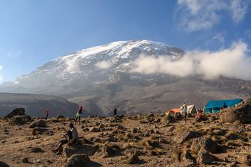 Kilimanjaro, Tansania, Sport auf Karanga Hut