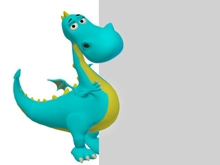 dragon 3d cartoon