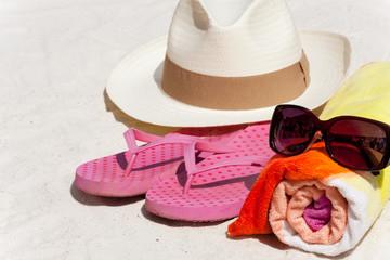Accessories für den Strandurlaub