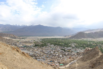 Sunset - Leh City - From Namgyal Tsemo Monastery
