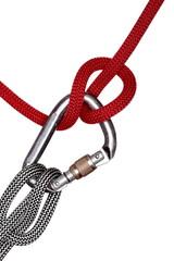 Halbmastsicherung mit Seil