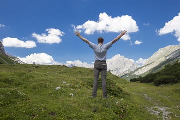 Freiheit im Gebirge
