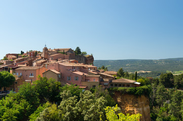 Rousillon in France